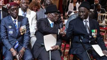 france gives citizenship to 28 african ww2 veterans