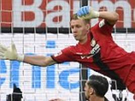 leverkusen 0-0 bayern munich: 10-man bayer hold leaders