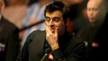 o'sullivan pegged back by debutant in first round