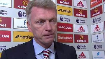 sunderland 2-2 west ham: comeback showed character - david moyes