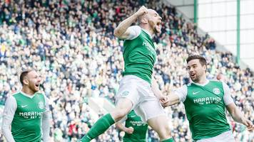 hibs seal title and promotion after win over queens
