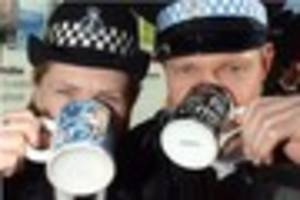 Cafe where police stopped for coffee break says they're always...
