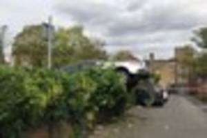 80-year-old man has to be released from car wedged in Wallington...