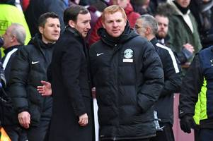 hibs and hearts are travelling in opposite directions and neil lennon's men are closing the gap on jambos - sutton