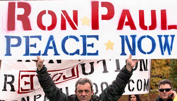 ron paul: peace is popular... people don't start the wars