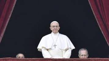 pope francis urges end to horror and death in syria