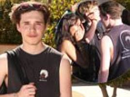 brooklyn beckham flirts with madison beer at coachella