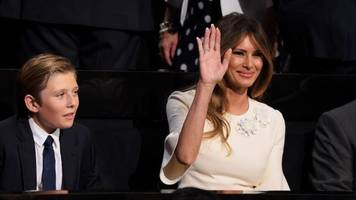 Melania Trump And Her Son Will Soon Be Living In The White House