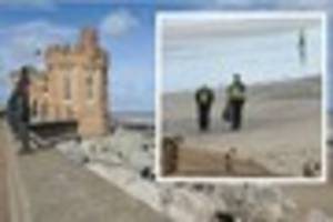 Dog walker's shock at discovering body on beach in Withernsea