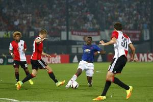 Paul Pogba talks to Geoff Shreeves about comparisons with N'Golo Kante, United's season and more