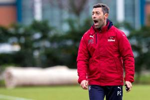 rangers welcome portugal hero eder's son in for training as pedro caixinha says ibrox club can be breeding ground for top talent