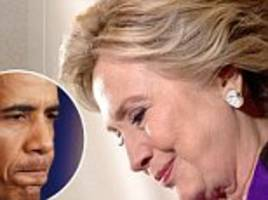 how hillary groveled to obama the night of her defeat