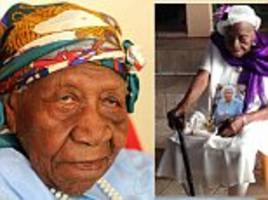 Jamaican woman who was a former slave is new oldest person