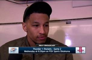 Andre Roberson: 'It's on us'