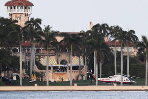this website tells you when trump is at mar-a-lago and how much it costs taxpayers