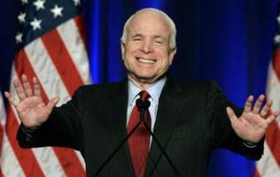 John McCain:  I Hope Trump Has Been 'Sucked In' By The Washington Establishment
