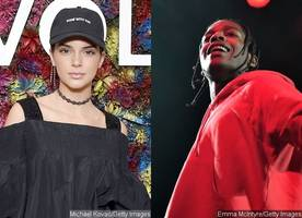 kendall jenner and a$ap rocky spotted getting cozy at coachella: 'they were all over each other'
