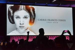 carrie fisher was the real star of star wars celebration