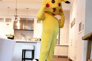 the rock can be anything, except a believable pikachu