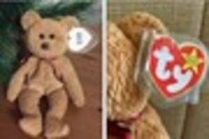 How your Beanie Baby toy could be worth hundreds or even...