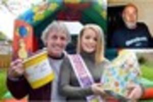VIDEO: Drinkers stage fun day for The Bradeley Pub regular who...