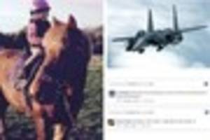 fighter jet horse deaths: many are angry but some defend...