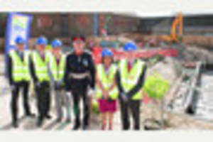 Lord-Lieutenant visits Dorset County Hospital to see work on...
