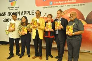 washington apple commission unveils the washington apple cook book in india