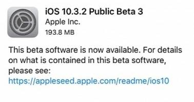 Apple Releases Beta 3 of iOS 10.3.2, macOS 10.12.5, watchOS 3.2.2 & tvOS 10.2.1
