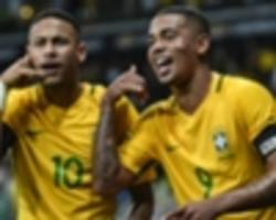 Barcelona star Neymar places Gabriel Jesus alongside Griezmann and Dybala as his favourite forwards
