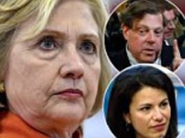 hillary downloaded staff emails to see who was against her