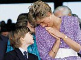 prince william speaks of when he found out diana had died