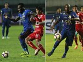Essien and Cole banned from playing for Indonesian club