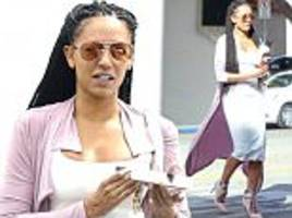 Slim Mel B seen for the first time since victim support
