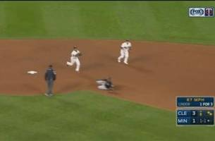 watch: twins shine on defense against indians