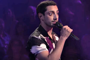 riz ahmed spits fire in james corden's face on latest 'drop the mic' (video)