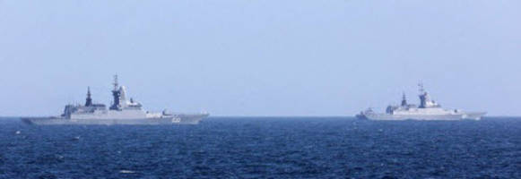 caught on tape: british navy escorts russian warships through english channel