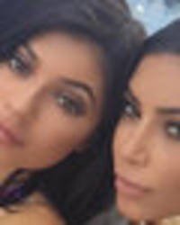 Kylie Jenner and Kim Kardashian team up for topless tease – but everyone's noticed THIS