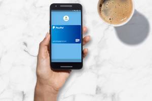 You can now use your PayPal account to buy stuff through Android Pay