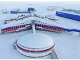 Russia unveils its new Arctic military base