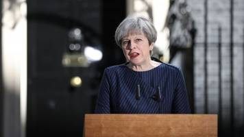 UK Prime Minister Theresa May Seeks Early General Election