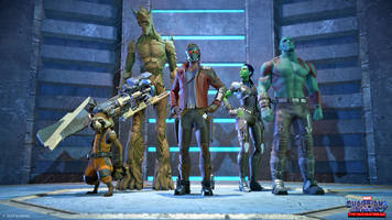 Telltale's 'Guardians of the Galaxy' game arrives tomorrow