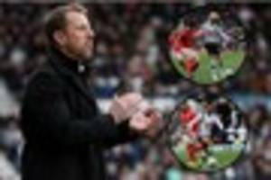 manager gary rowett praises performances of recalled derby county...