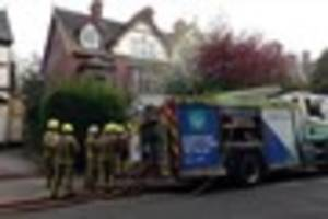 Live updates as firefighters tackle blaze at flat in Pearson...