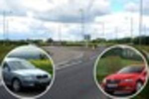 Skoda driver's vicious road rage leaves man with a broken nose on...