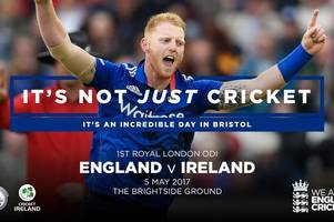 COMPETITION: Win two tickets to see the One Day International between England and Ireland