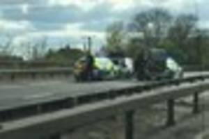 A12 armed police incident sees pair arrested over Wickford murder