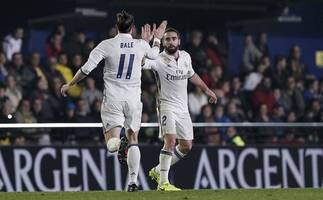 Bale out of Madrid's tie with Bayern