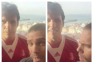 chris coleman dons aberdeen strip and hails jonny hayes over gareth bale in brilliantly bizarre video
