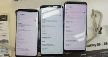 Some Galaxy S8 and S8+ Units in Korea Affected by Red Display Discoloration
